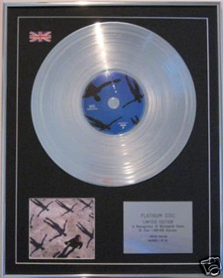 MUSE - CD Platinum Disc - ABSOLUTION