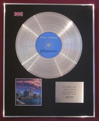 LIGHTNING SEEDS - Platinum Disc - LIKE YOU DO,THE BEST OF