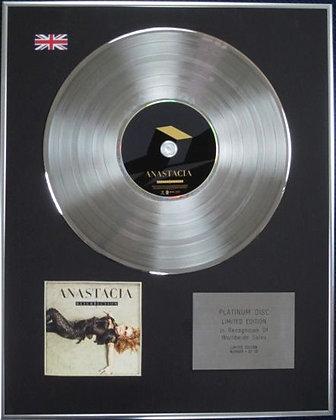 ANASTACIA - Limited Edition CD Platinum Disc - RESURRECTION