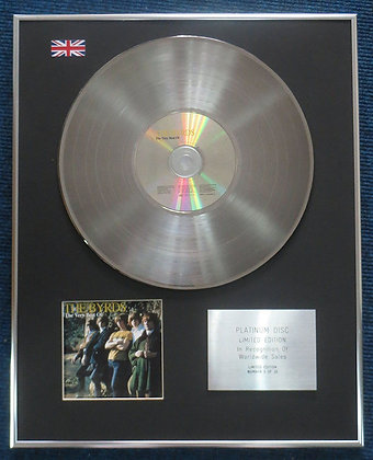 Byrds - Limited Edition CD Platinum LP Disc - Very Best of the Byrds