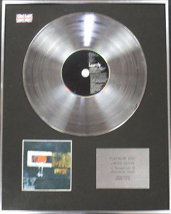 LAMB - Limited Edition CD Platinum Disc - LAMB