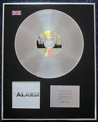 ALARM - Limited Edition CD Platinum LP Disc - CHANGE