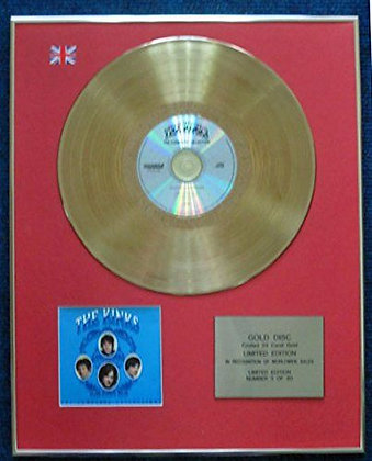 The Kinks - Limited Edition CD 24 Carat Gold Coated LP Disc - The Complete