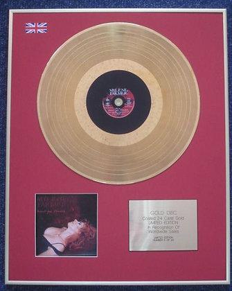 MYLENE FARMER - CD 24 Carat Gold Coated LP Disc - AVANT QUE L'OMBRE