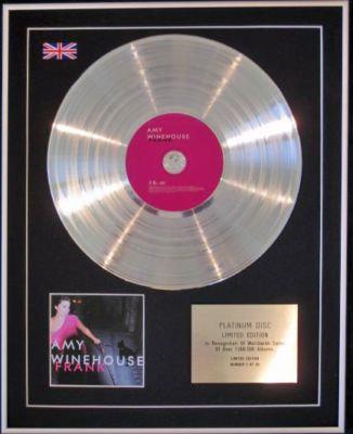 AMY WINEHOUSE - CD Platinum Disc - FRANK