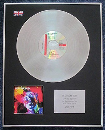 Alice In Chains - Limited Edition CD Platinum LP Disc - Facelift