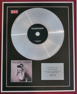 MANIC STREET PREACHERS-CD Platinum Disc-POSTCARDS FROM