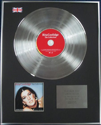 Rita Coolidge - Limited Edition CD Platinum Disc - The Collection
