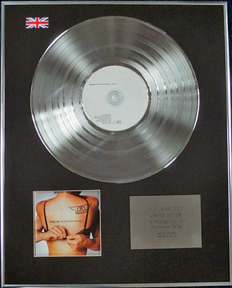 AEROSMITH - Limited Edition CD Platinum Disc - YOUNG LUST (ANTHOLOGY)