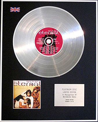 ETERNAL - Limited Edition CD Platinum Disc - BEFORE THE RAIN