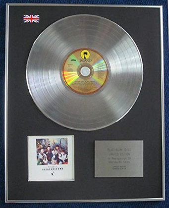 Frankie Goes To Hollywood - Limited Edition CD Platinum LP Disc - Pleasuredome?