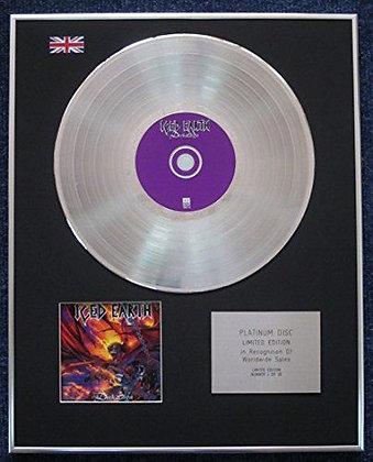 Iced Earth - Limited Edition CD Platinum LP Disc - The Dark Saga