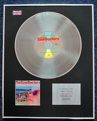 The Saw Doctors - Limited Edition CD Platinum LP Disc - Songs from Sun Street