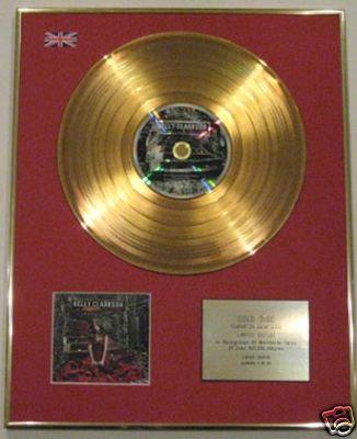 KELLY CLARKSON -Ltd Edition CD Gold Disc- MY DECEMBER