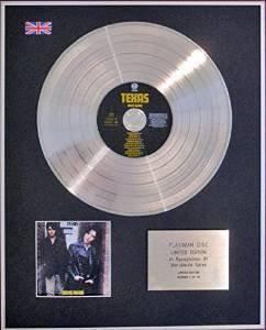 TEXAS (SHARLEEN SPITERI) - CD Platinum Disc - RICKS ROAD