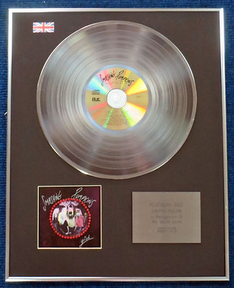 Smashing Pumpkins - Limited Edition CD Platinum LP Disc - Gish
