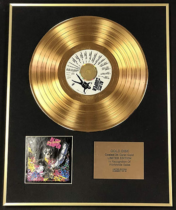 Alice Cooper - Exclusive Limited Edition 24 Carat Gold Disc - Hey Stoopid
