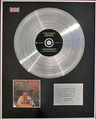 ROBBIE WILLIAMS - CD Platinum Disc - SWING WHEN YOU'RE WINNING