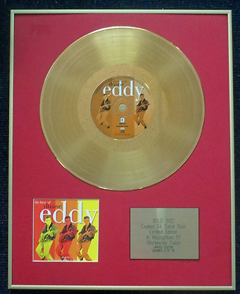 Duane Eddy - Limited Edition CD 24 Carat Gold Coated LP Disc - The Best of