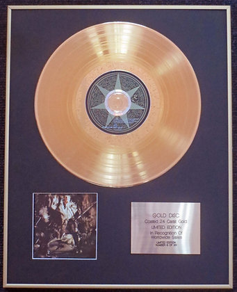 Fields of the Nephilim - Exclusive Limited Edition 24 Carat Gold Disc - Elizium