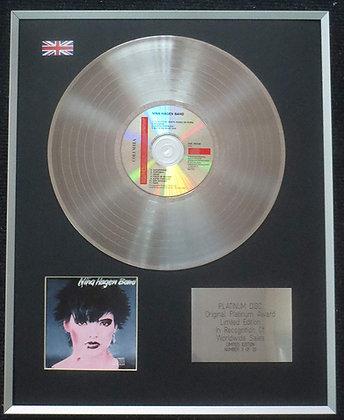 Nina Hagen Band- Limited Edition CD Platinum LP Disc - 'Nina Hagen Band'