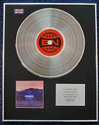 Arcade Fire - Limited Edition CD Platinum LP Disc - Everything Now
