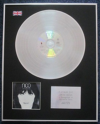 NICO - Limited Edition CD Platinum LP Disc - THE MARBLE INDEX