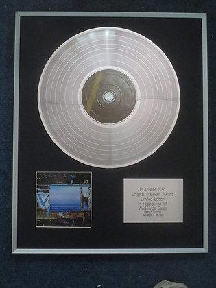 Deerhunter - Limited Edition CD Platinum LP Disc - Fading Frontier