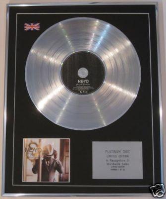 NE-YO - Ltd Edt CD Platinum Disc -YEAR OF THE GENTLEMAN