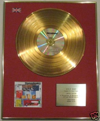 STEREOPHONICS -24 Carat CD Gold Disc- WORD GETS AROUND