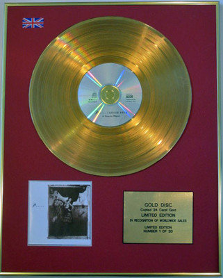 PIXIES - Limited Edition 24 Carat CD Gold Disc - SURFER ROSA