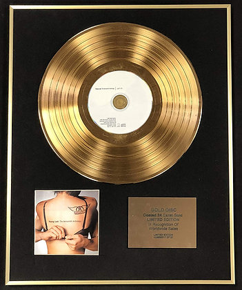 Aerosmith - Exclusive Limited Edition 24 Carat Gold Disc - Young Lust