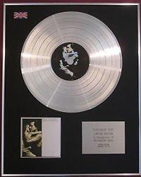JOHN COUGAR MELLENCAMP -  CD Platinum Disc - BIG DADDY