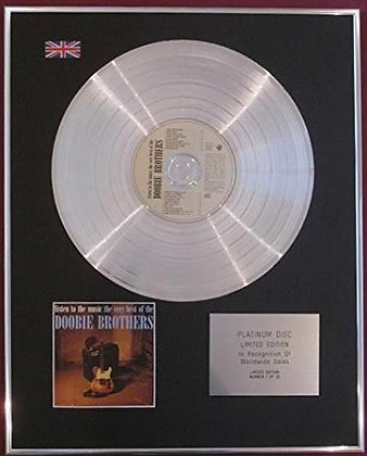 DOOBIE BROTHERS - CD Platinum Disc- LISTEN TO THE MUSIC