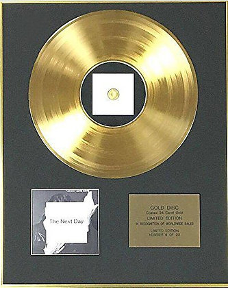David Bowie - Exclusive Limited Edition 24 Carat Gold Disc - Born In…
