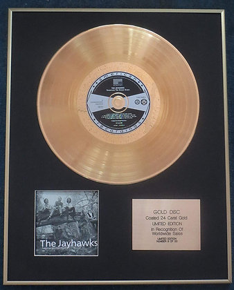 Jayhawks - Exclusive Limited Edition 24 Carat Gold Disc -Tomorrow the Green Gras