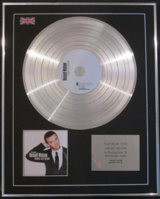 RUSSELL WATSON  CD Platinum Disc-PEOPLE GET READY