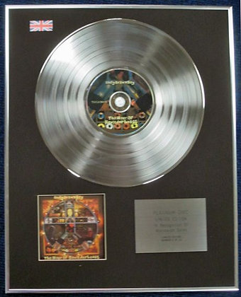 BADLY DRAWN BOY - CD Platinum Disc - THE HOUR OF BEWILDERBEAST