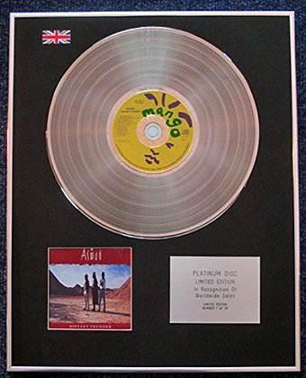 Aswad - Limited Edition CD Platinum LP Disc - Distant Thunder