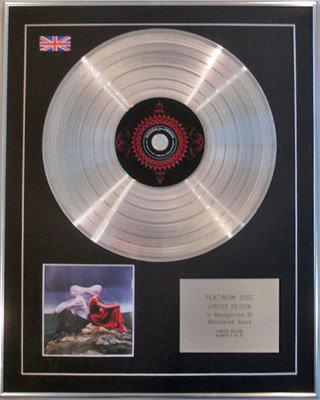 FUNERAL for a FRIEND  - Ltd Edition CD Platinum Disc - CASUALLY DRESSED ------