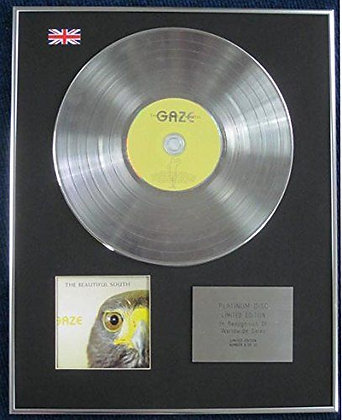 BEAUTIFUL SOUTH - Limited Edition CD Platinum LP Disc - GAZE