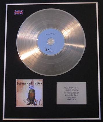BARENAKED LADIES - CD Platinum Disc - STUNT