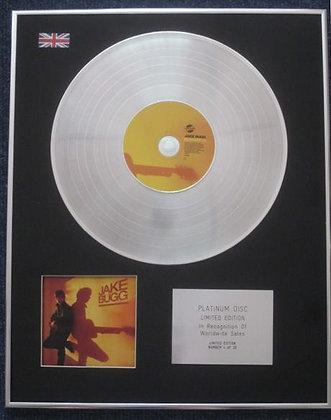 JAKE BUGG - Limited Edition CD Platinum LP Disc -SHANGRI LA