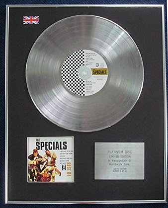 Specials - Limited Edition CD Platinum LP Disc - The Best of