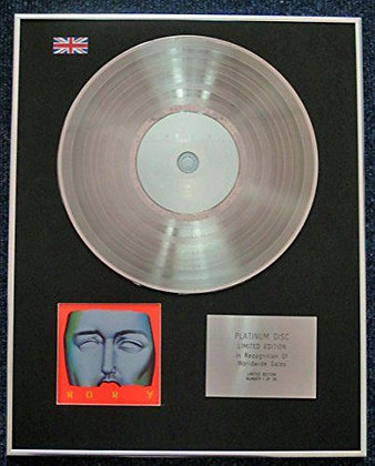 Rory Gallagher - Limited Edition CD Platinum LP Disc - Wheels Within Wheels