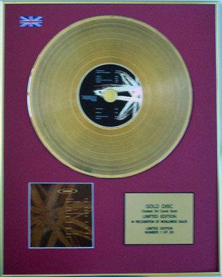 "ORBITAL - Limited Edition 24 Carat CD Gold Disc -""ORBITAL"""