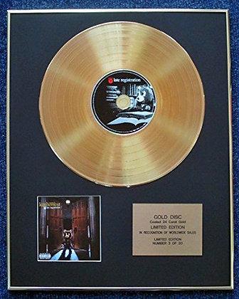 Kanye West - Limited Edition CD 24 Carat Gold Coated LP Disc - Late Registration