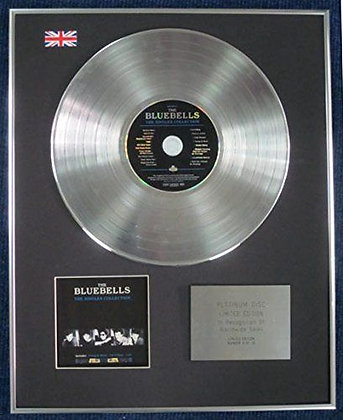 BLUEBELLS - Limited Edition CD Platinum LP Disc - SINGLES COLLECTION