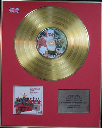 PHIL SPECTOR - Ltd Edition CD 24 Carat Coated Gold Disc - A CHRISTMAS?