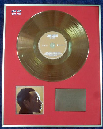 JOHN LEGEND - Limited Edition CD 24 Carat Gold Coated LP Disc - GET LIFTED